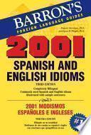 2001 Modismos Españoles E Ingleses