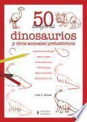 50 dibujos de dinosaurios y otros animales prehistóricos