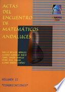 Actas del encuentro de matemáticos andaluces