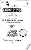 Antigüedades romanas
