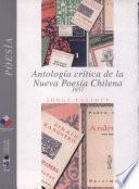 Antología crítica de la nueva poesía chilena
