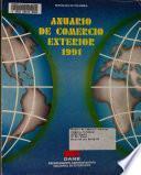 Anuario de comercio exterior