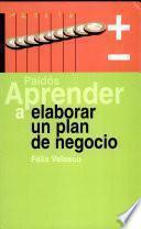 Aprender a elaborar un plan de negocio
