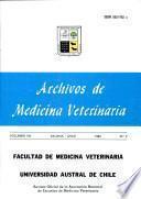 Archivos de Medicina Veterinaria