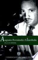 Augusto Fernández Guardiola en y a su memoria