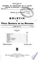 Boletín de Policía Sanitaria de los Animales