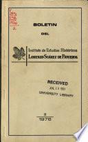 Boletín del Instituto de Estudios Históricos Lorenzo Suárez de Figueroa