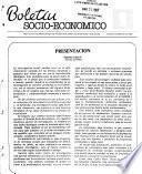 Boletín socio-económico