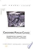 Cancionera popular cuyano--Temas musicales