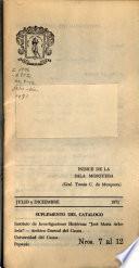 Catalogo general detallado del Archivo Central del Cauca