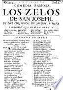 Comedia famosa: Los Zelos de San Joseph