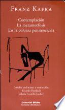 Contemplacion La metamorfosis En la Colonia penitenciaria
