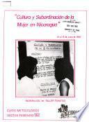 Cultura y subordinación de la mujer en Nicaragua