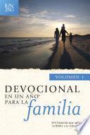 Devocional en un año para la familia volumen 1