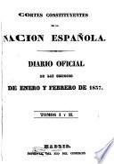 Diario de las sesiones de Cortes