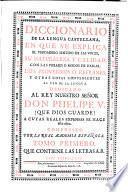 Diccionário De La Lengua Castellana