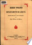 Diccionario topográphico do Departamento de Loreto na Republica do Perú