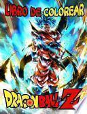 Dragón Ball Z Libro de Colorear