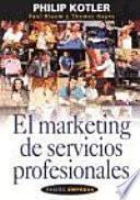 El marketing de servicios profesionales