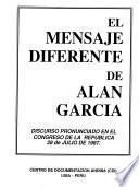 El mensaje diferente de Alan García