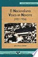 El nacionalismo vasco en Navarra (1931-1936)