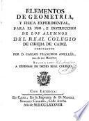 Elementos de geometria, y fisica experimental