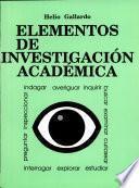 Elementos de Investigación Académica