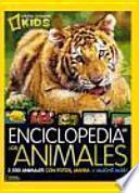 Enciclopedia de los animales: 2500 animales con fotos, mapas ¡y mucho más!
