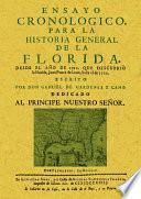 Ensayo cronológico para la historia general de la Florida.