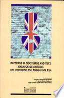 Ensayos de Análisis Del Discurso en Lengua Inglesa