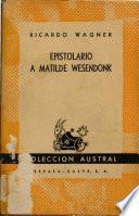 Epistolario a Matilde Wesendonk
