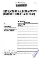 Estructuras algebraicas VII