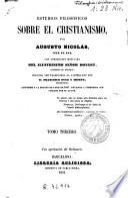 Estudios filosóficos sobre el cristianismo ..., 2