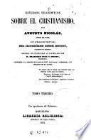 Estudios filosóficos sobre el cristianismo ... 3-4