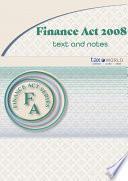 Finance Act 2008