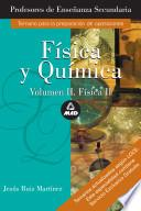 Fisica Y Quimica. Profesores de Enseñanza Secundaria.temario Especifico Volumen Ii. E-book