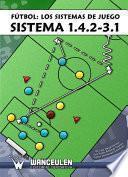 Fútbol los sistemas de juego: Sistema 1.4.2-3.1
