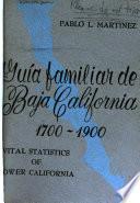 Guía familiar de Baja California, 1700-1900