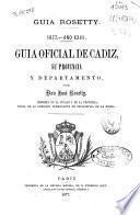 Guía oficial de Cádiz, su provincia y departamento