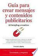 Guía para crear mensajes y contenidos publicitarios