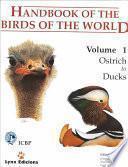 Handbook of the Birds of the World: Ostrich to ducks
