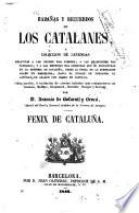 Hazañas y recuerdos de los catalanes ,ó, Colección de leyendas