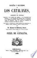 Hazanas y recuredos de los Catalanes, o colleccion de Leyendas (etc.)