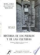 Historia de los pueblos y de las culturas
