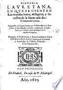 Historia Lauretana...de la S.Casa de N.S.de Loreto