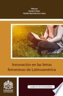 Innovación en las letras femeninas de Latinoamérica