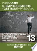 Internacionalización e innovación de la empresa
