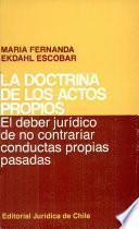 La doctrina de los actos propios