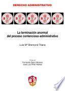 La terminación anormal del proceso contencioso-administrativo