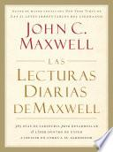 Las lecturas diarias de Maxwell